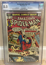 AMAZING SPIDER-MAN #152 CGC 8.0 SHOCKER APPEARANCE SHATTERED BY THE SHOCKER