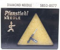 Pfanstiehl S853-DS77 Diamond Tip Needle Stylus Replaces Tetrad 51D 51S 61D 61S