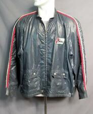 Vintage 1960s Goodyear Tires Racing Rally Jacket Large Back Patch Sz.XL Stripes