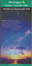 Aer Lingus Irish Airlines system timetable effective until 10/25/96 [6093] Buy 2