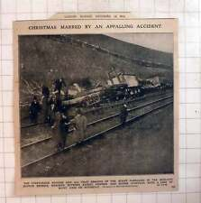 1910 Appalling Accident Midland Scotch Express Kirby Stephen Dawes Junction