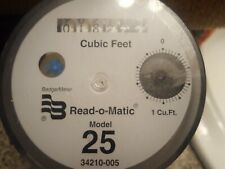Badger Model 25 Register Read-O-Matic Water Meter Head 1 Cubic Feet direct read