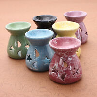 OIL BURNER FOR FRAGRANCE OILS SIMMERING GRANULES WAX MELTS CERAMIC WITH CANDLE