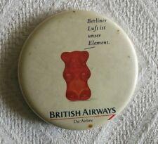 BRITISH AIRWAYS AIRLINES GERMAN AVION BADGE PIN
