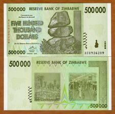 Zimbabwe, 500,000 (500000) dollars, 2008, P-76, UNC
