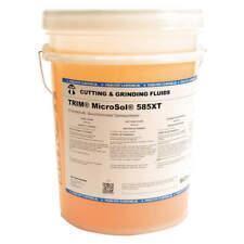 TRIM MS585XT/5 Cutting Oil,5 gal,Bucket
