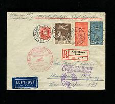Zeppelin Sieger 138 1932 1st SouthAmericaFlight DenmarkTreatyDispatch BerlinFeed