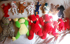 Large Lot of 15 Ty Beanie Babies-All with Tags attached Most Retired (Lot #5)
