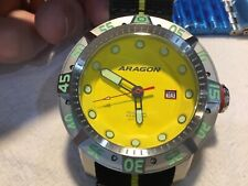 ARAGON A324YEL Gauge Automatic 50mm 2 Bands