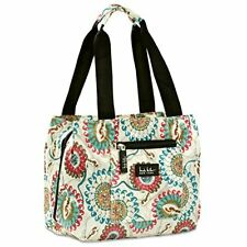 Nicole Miller of New York Insulated Lunch Cooler Bag - 11 Lunch Tote Paisley