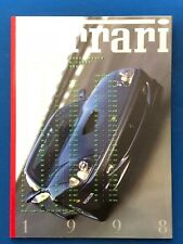 Vintage 1998 Annuario Year Book FERRARI libro anno Formula 1 e supercar  2