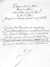 JULES DE MARTHOLD / 5 pages autographes Poésies, Cuisine, Jeux, les Parisiens..