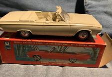 1965 Dodge Coronet 500 Convertible Dealer Promo MPC Model Original W/ Box 65