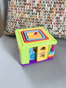Baby Toddler Preschool Stacking Cubes With Activities By Playskool VGC