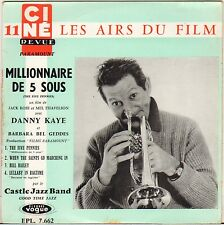 """CASTLE JAZZ BAND """"THE FIVE PENNIES"""" B.O. FILM JAZZ 50'S EP VOGUE 7662"""