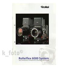 Rolleiflex 6000 System * Prospekt