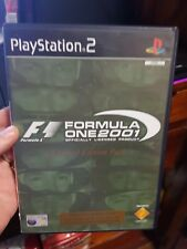 F1 Formula One 2001 (no booklet Game Only) - PLAYSTATION 2 PS2 - FREE POST