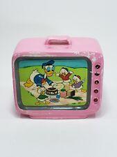 Vintage Walt Disney Productions Donald Duck Huey Dewey & Louis Coin Piggy Bank