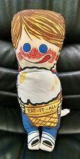 Eat-It-All Ice Cream Cone Advertising Plush Doll, Boy Nice!