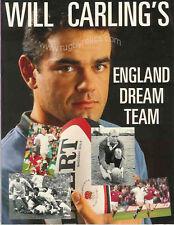 Angleterre joueurs de rugby livre sera carlings Angleterre rêve