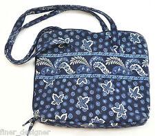 VERA BRADLEY PAISLEY LARGE SHOULDER TOTE SHOPPER BAG TRAVEL Cosmetic Make up bag