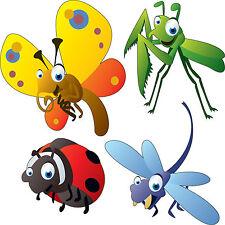 Stickers enfant Insectes 30x30cm réf 3510