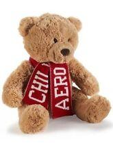 "AEROPOSTALE AERO CHRISTMAS WINTER CHILL BEAR Teddy Plush Scarf NEW nwt 16"""