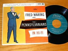 BIG BAND EP - FRED WARING - CAPITOL EAP 3-845 -