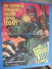 Judge Dredd Legends of the Law  Promo Poster 1994 DC