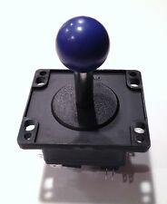 PURPLE  BALL TOP JOYSTICK 4 OR 8 WAY    - WOOD OR METAL CONTROL PANELS