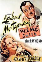 Mr. and Mrs. Smith-Warner DVD-Hitchcock-Carole Lombard-Region 1