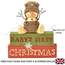 Perfect Christmas Decoration Baby's First Xmas Gift Figure Cute Knitted Outfit