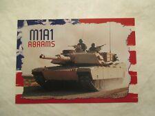 M1A1 Abrams Tank Continental Postcar