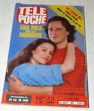 TELE POCHE #801 17/06 1981 SOPHIE FAUCHER CHARLES BINAME EDDY GRANT JUDO NOWAK