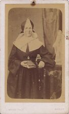 Religion Nancy France Carte de visite Vintage albumine