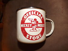 Official Disney Store Mickey Mouse Vintage Classic Mug Cup Collector's Item-Rare