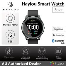 Haylou Solar LS05 Bluetooth Smart Watch Sports Tracker Heart Rate Monitor;