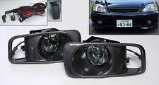Smoke JDM Front Fog Lights for Honda Civic 99-00 2/3/4dr