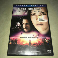 Final Fantasy The Spirits Within Dvd New Sci Fi Fantasy Movie