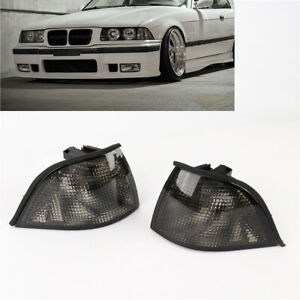 NEW L+R Corner Smoke Light for BMW 92-98 E36 3-SERIES 2DR Coupe/Convertible