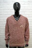 LEVI'S Uomo Taglia 2XL Maglione Vintage Maglia Pullover Lana Felpa Sweater Man