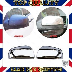 Chrome Mirror Cover 2 pcs STAINLESS STEEL Mercedes W639 VITO from 2010 to 2014