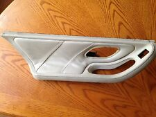 BMW E38 OEM Rear LEFT DOOR HANDLE Leather 740i 740iL 750iL Oyster Pearl Beige