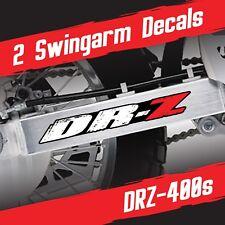 DRZ400 Swingarm decals stickers Grunge set for Suzuki DRZ400S