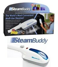 Steam Buddy Handheld Steamer Travel Iron With Water Cup Creaser and Brush