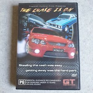 The Chase is On: Ford Chase Movie DVD, Getting Away is the Hard Part, Region 4