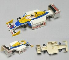 1993 TYCO Renault CANON elf #5 Indy F1 Slot Car BODY Japan X-50 Z-05 Euro 8927