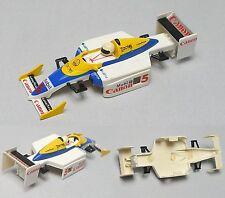 1993 TYCO Renault CANON elf #5 Indy F1 Slot Car BODY Japan X-50 Z-05 Euro 8927