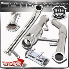 Fits 240SX S14 95-98 Downpipe  Catback Exhaust & Cat Pipe & Turbo Elbow  4 SETS