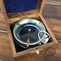 "Merchant Navy Gift Compass Nautical Maritime Sailor Navigation Hiking/Camping 3"""